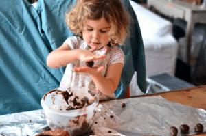 truffes au chocolat CPMHK 1