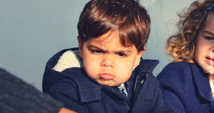 Enfant qui râle