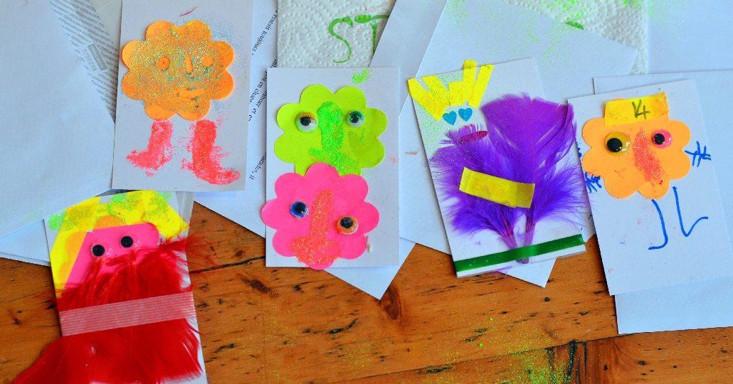Activite Montessori Diy Cartes D Anniversaire A Faire Avec Nos Enfants
