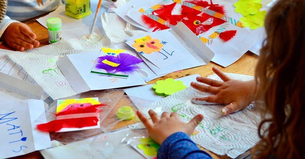 activité montessori + carte invitation anniversaire enfant