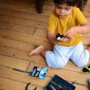 activité montessori changer les piles
