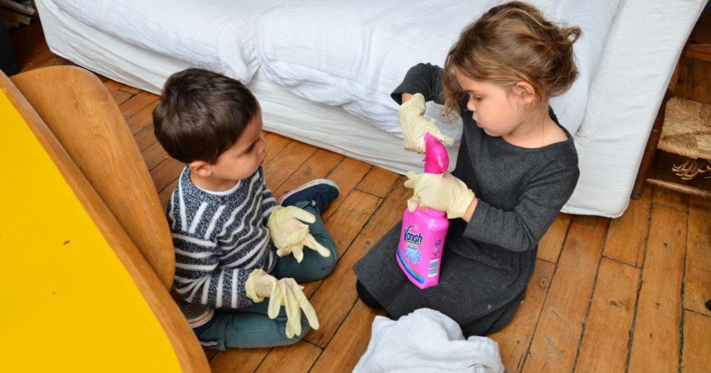 laver linge activité montessori