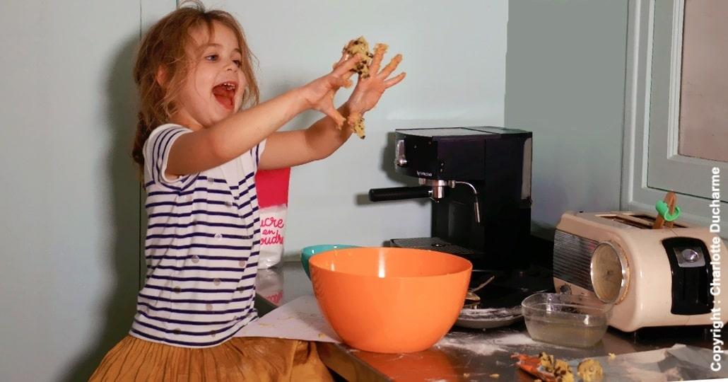 Activité montessori recette cookies enfant