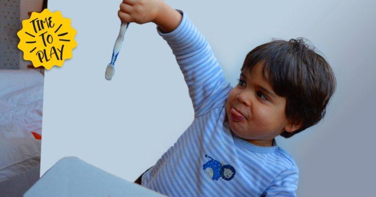 brossage dent bébé