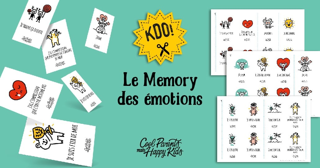 cartes memory emotions