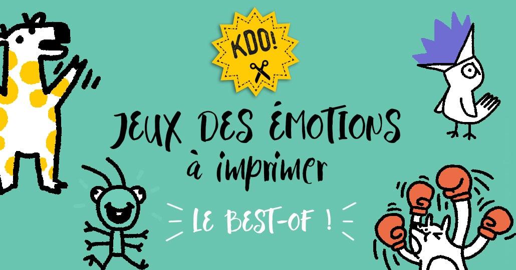 Jeux Des Emotions A Imprimer Le Best Of Cpmhk