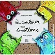 Livre couleurs des émotions
