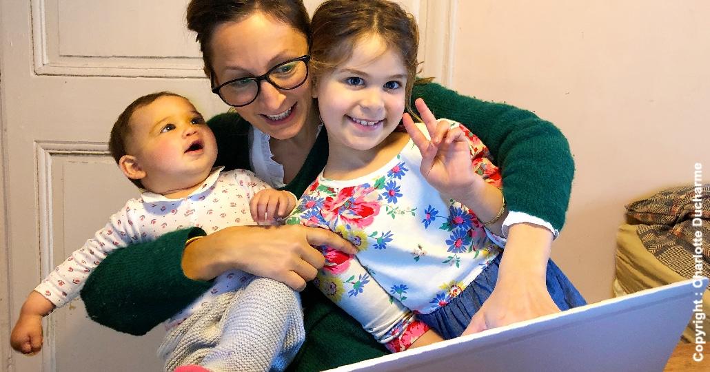 Télétravail Garder ses enfants école à la maison