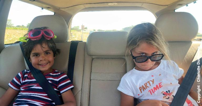 enfants ennui voiture
